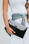Gridlock Grey Nappy Change Clutch