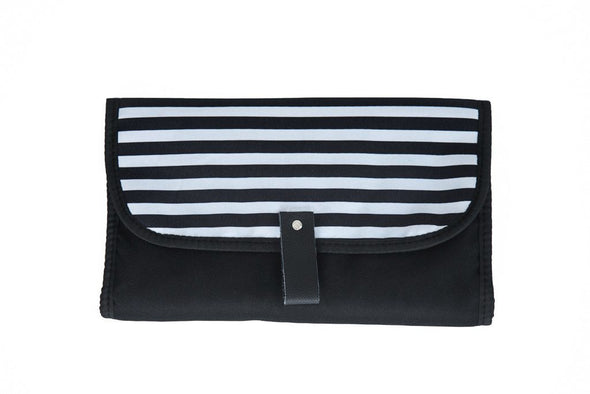 Zebra Crossing Nappy Change Clutch