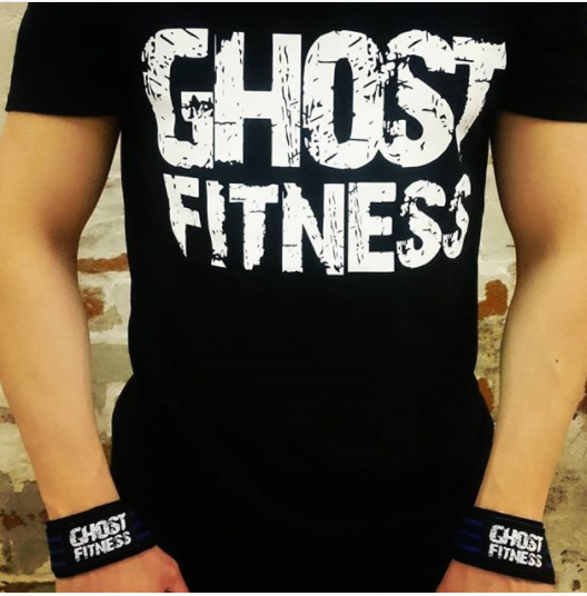 Ghost Fitness Logo Gym T Shirt - Ghost Fitness