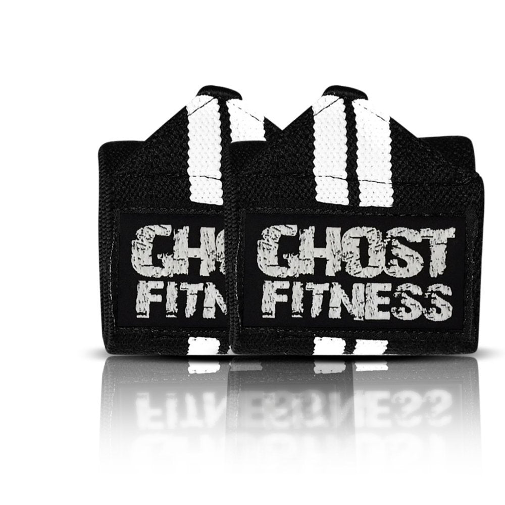 Powerlifting Wrist Wraps for Bench Press | Gym Lifting Straps - Ghost Fitness