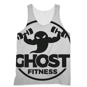 Casper The Swoly Ghost Fitness Sublimation Performance Powerlifting Vest - Ghost Fitness