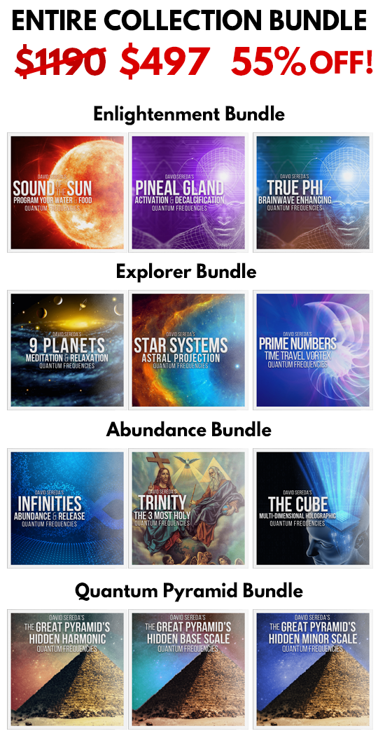 Entire Frequency Collection - BUNDLE DISCOUNT 55% OFF