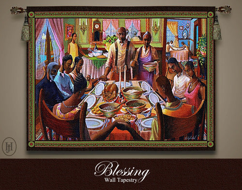 Blessing l Tapestry by John Holyfield