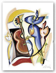 """Lady Plays The Blues"" - Alfred Gockel"
