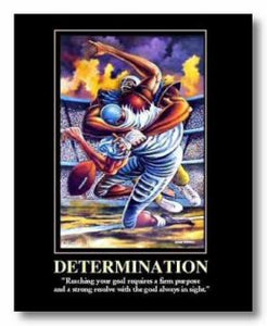 """Determination"" - Ernie Barnes"
