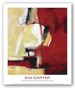 """Movement in Red"" - Eva Carter"