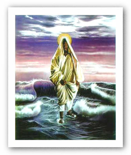 Christ Walking On The Water - Alan Hicks