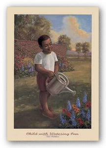 """Child With Watering Can"" - Tim Ashkar"