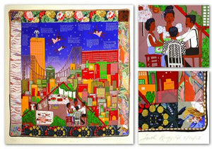 Tar Beach II - Serigraph - Faith Ringgold