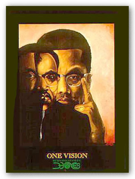 One Vision (Malcolm X, Martin Luther King Jr.)