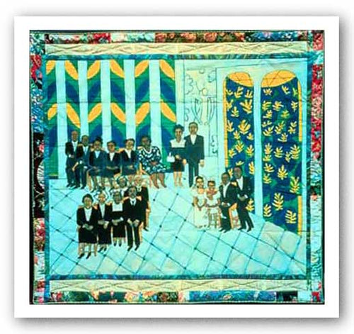 Matisse's Chapel - Faith Ringgold