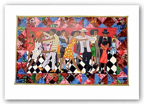 Groovin' High - Serigraph - Faith Ringgold