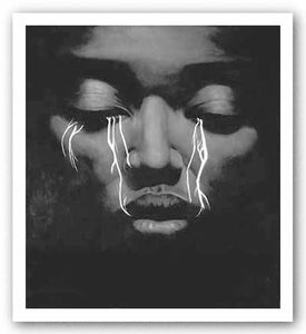 """Electric Tears - Giclée"" - Laurie Cooper"