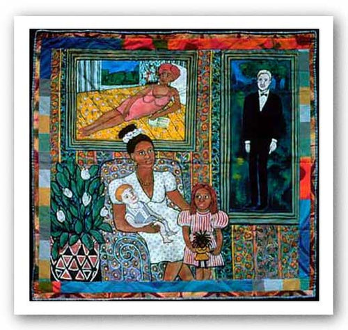 A Family Portrait - Faith Ringgold