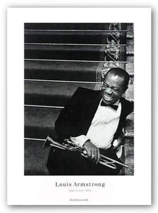 """Louis Armstrong"" - Bob Willoughby"