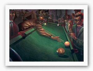 Behind the Eight Ball ( mini print)