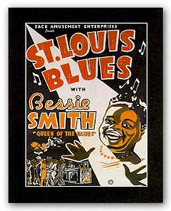 """St. Louis Blues"" - Reproduction Vintage Poster"