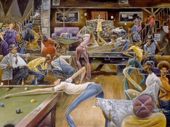 Phat Daddy's Pool Hall-Frank Morrison