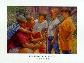 Pushing Excellence - Brenda Joysmith