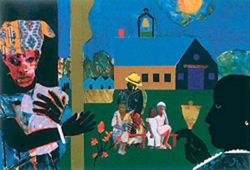 School Bell Time-Romare Bearden