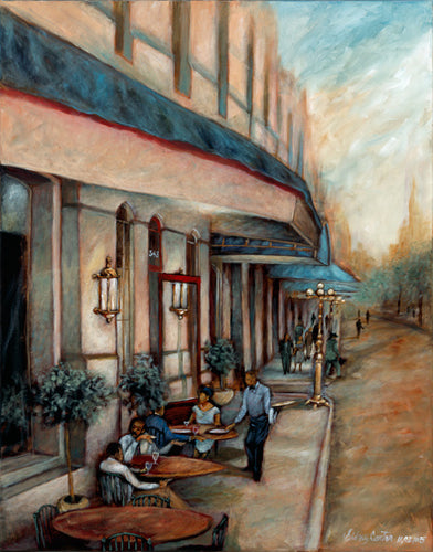 Side Walk Cafe - Sidney Carter