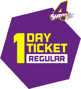 Super4 - One Day Ticket (Regular Day Only)
