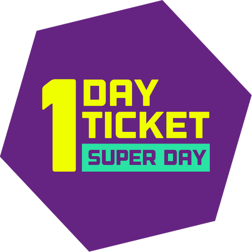 One Day Ticket (Super Day)