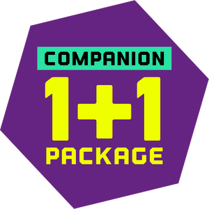 HKTV Exclusive - Companion 1+1 Package (FREE SuperPark Grip Socks x 2 Pairs)