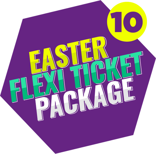 Easter Flexi Ticket Package (10 Tickets)
