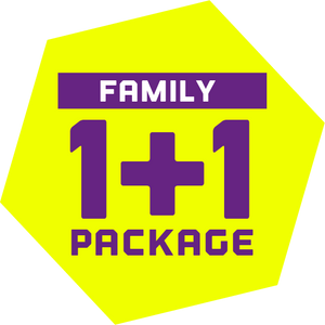 (HKTV Exclusive Offer) Family 1+1 Package