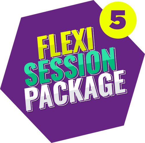 Flexi Session Package (5 Tickets)