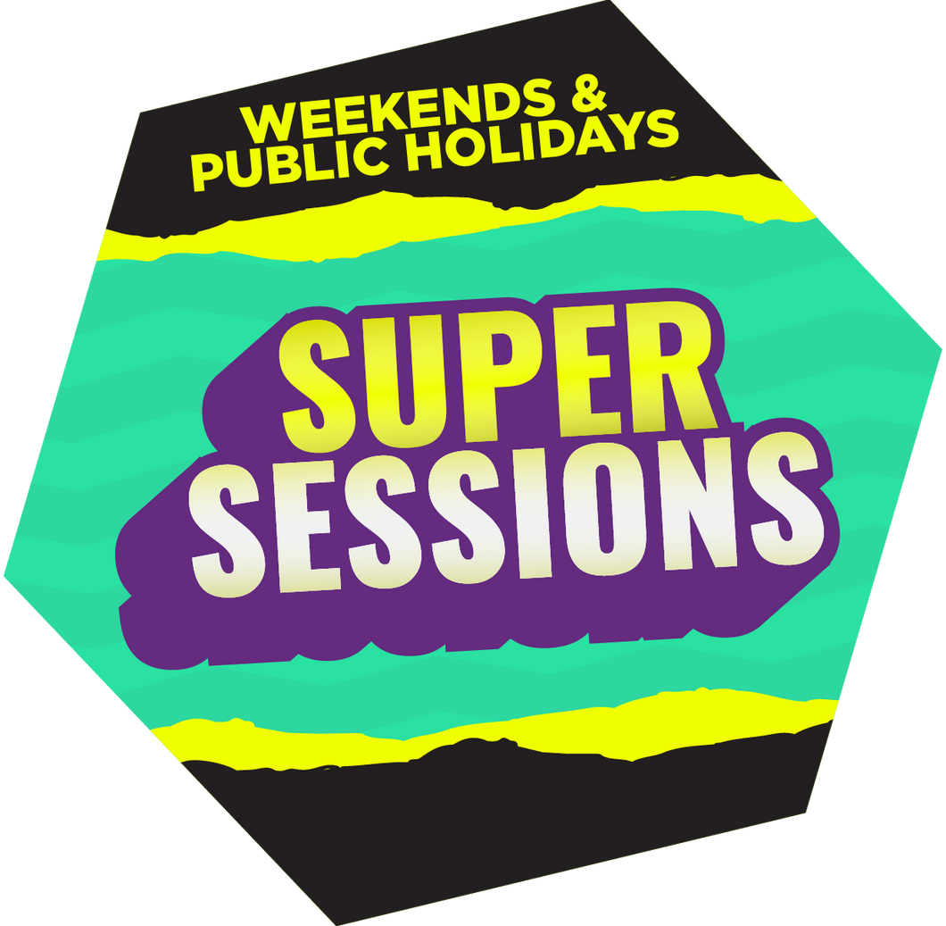 SuperSessions (Weekends & Public Holidays)