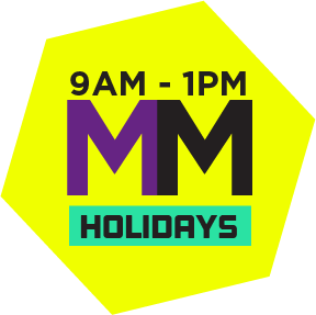 Morning Mayhem (Holidays)(9am - 1pm)