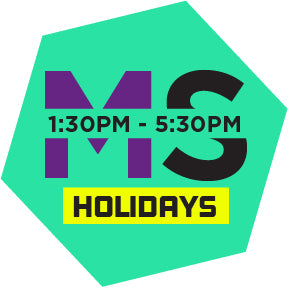 Middle Session (Holidays)(1:30pm - 5:30pm)