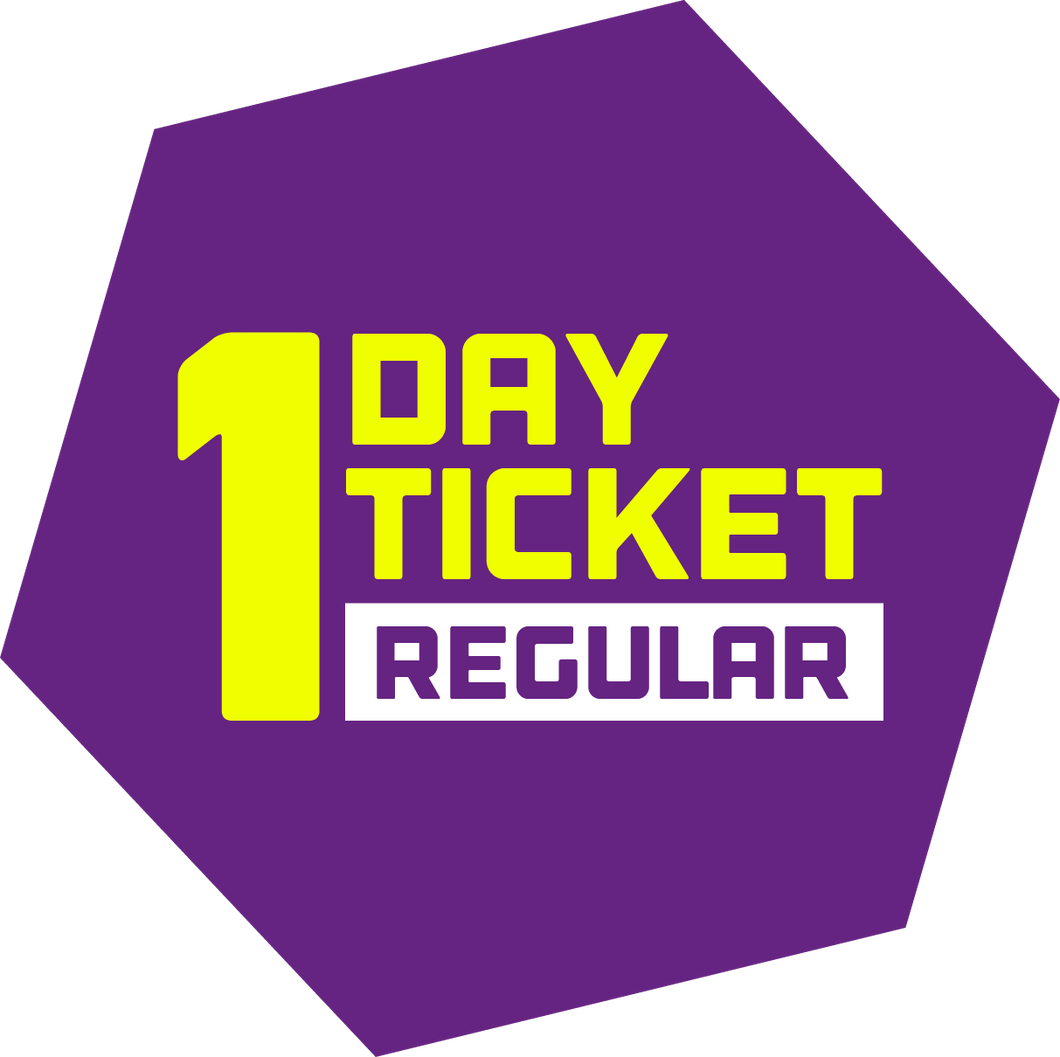 One Day Ticket (Regular)