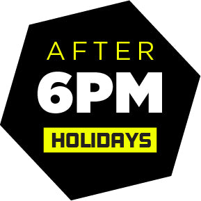 After 6PM (Holidays)(6pm - 9pm)