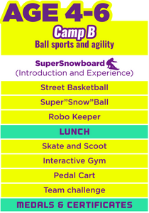 Super Day Camp For Xmas (Camp B) Aged 4-6