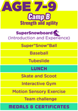 Super Day Camp For Xmas (Camp B) Aged 7-9