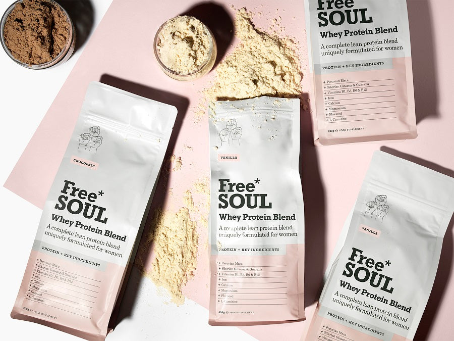 Free Soul Protein Powder Vanilla Chocolate
