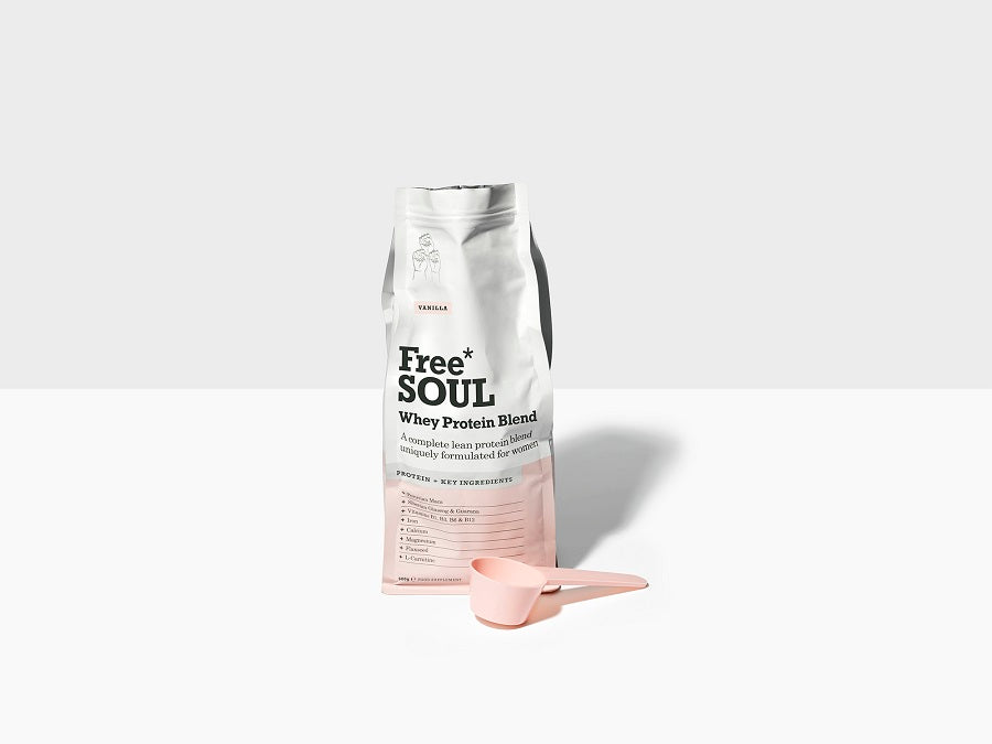 Free Soul Protein Blend with Scoop