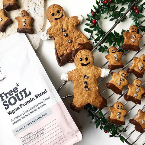 Protein gingerbread men recipe