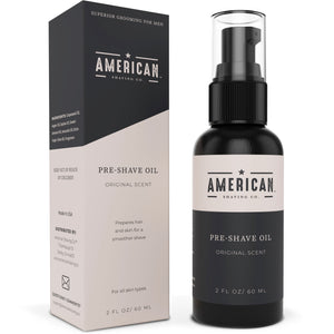 American Shaving Pre-Shave Oil, Original Masculine Scent, 2 fl. oz. (Packaging May Vary)