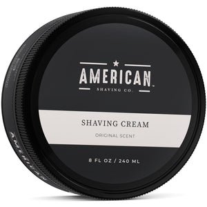 American Shaving Shaving Cream, Original Masculine Scent, 8 fl. oz. (Coming Fall 2018)