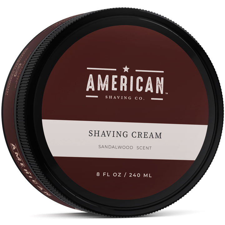 American Shaving Shaving Cream, Sandalwood Barbershop Scent, 8 fl. oz. (Coming Fall 2018)