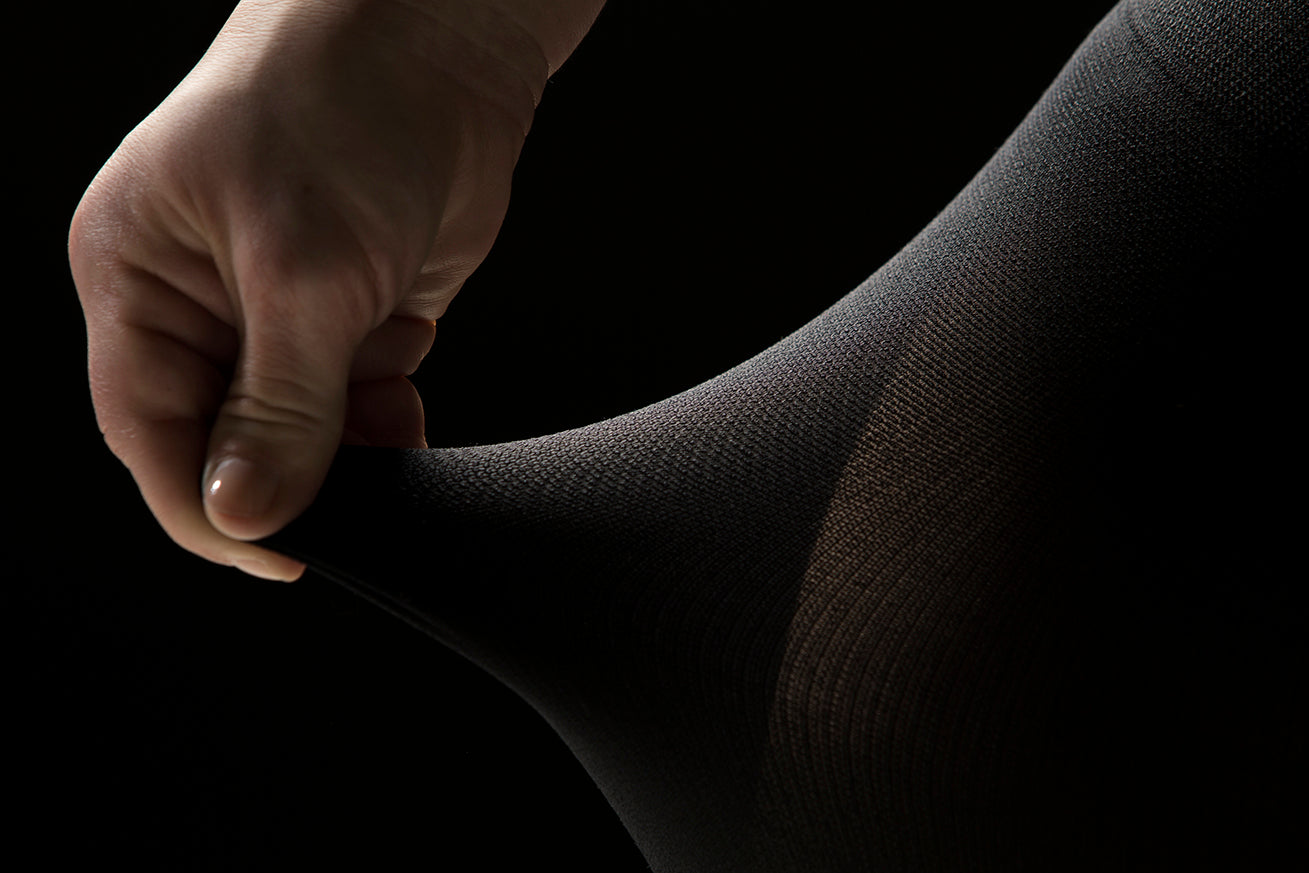 detailed view of tights texture