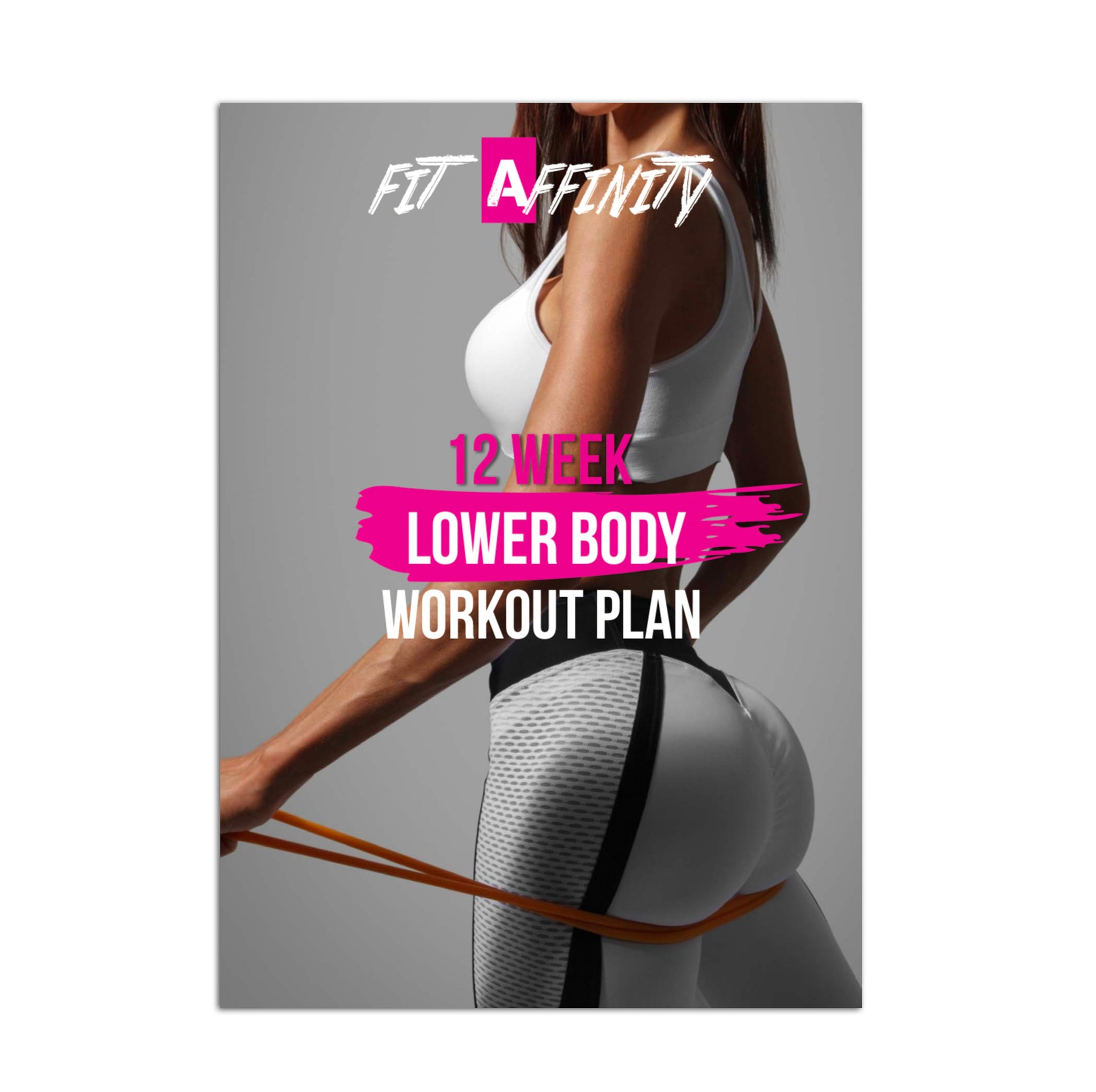 12 Week Lower Body Workout Plan