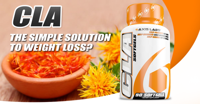 CLA from safflower Axis Labs simple solution to weight loss
