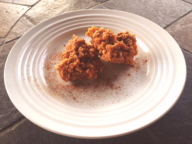 Protein Packed; Axis Labs No Bake Pumpkin Spice Cookies