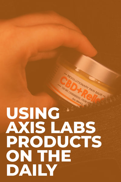 Using Axis Labs Products In Your Daily Life