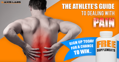 Athlete's Guide To Dealing With Pain - Sign Up & Win